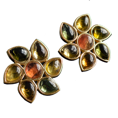 2Lips flower earring