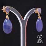 18k-goud-2lips-colours-oorbellen-tanzaniet-designer-david-aardewerk-juwelier