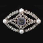 antieke-diamanten-broche