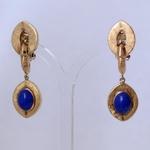 goud-lapis-lazuli-oorbellen