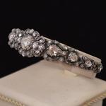 antieke-roosdiamanten-armband-zilver-goud