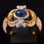 vintage-gouden-ring-diamant-saffier-georg-jensen
