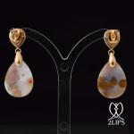18k-goud-2lips-colours-oorbellen-roos-diamant-jaspis-designer-david-aardewerk-juwelier