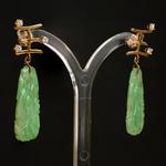 antieke-jadeiet-jade-14k-gouden-diamanten-oorhangers-oorbellen-chinese-teken-koningin