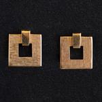 tiffany-handgegraveerd-gematterd-goud-retro-stijl-vintage-schroef-oorclips-oorbellen