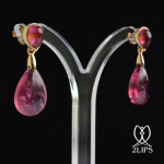 18k-goud-2lips-colours-oorbellen-rubelliet-toermalijn-designer-david-aardewerk-juwelier